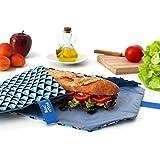Boc'N'Roll sandwich wrap - Tile Blue Women's by ioco