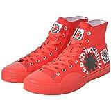 RED HOT CHILI PEPPERS レッチリ (サマーソニック 来日記念) - Canvas HI RHCP Red/VISION STREET WEAR(ブランド) / スニーカー/メンズ 【公式/オフィシャル】