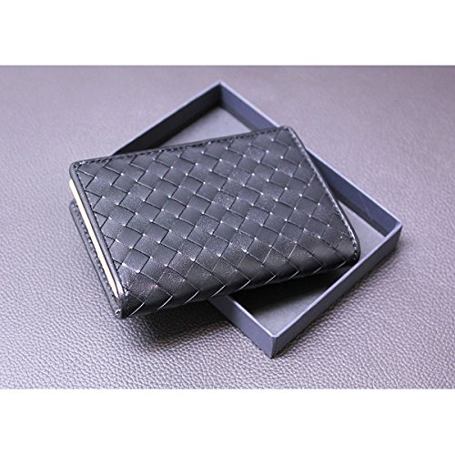 Rebonally(リボナリー):PLP/バッファロー・イントレチャート/カードケース(名刺入れ) ブラック