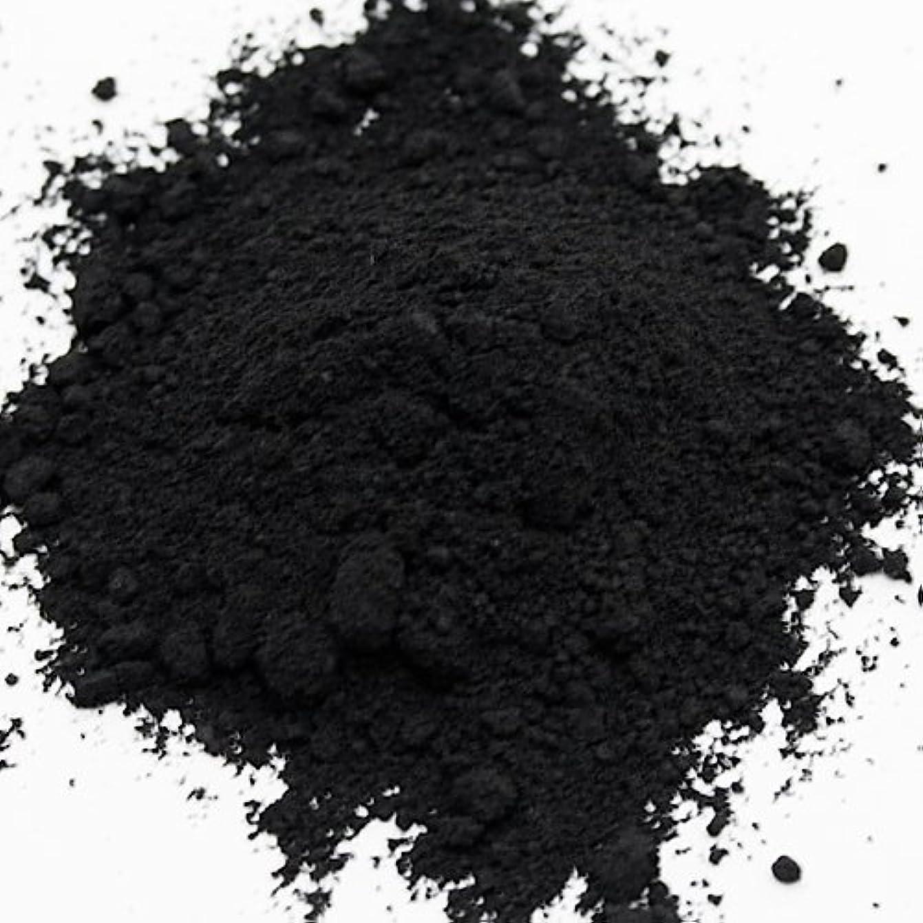 スパン緊張するツーリスト酸化鉄 ブラック 5g 【手作り石鹸/手作りコスメ/色付け/カラーラント/黒】