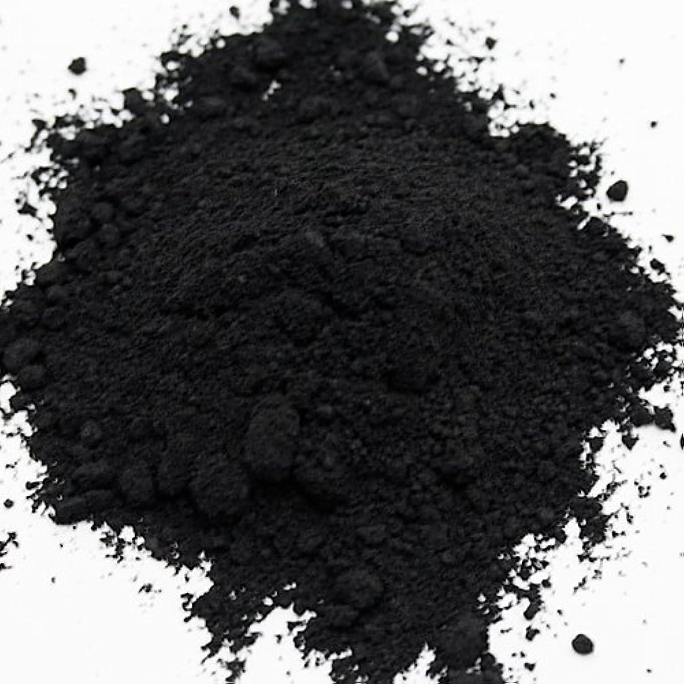 汚い種をまくボーカル酸化鉄 ブラック 20g 【手作り石鹸/手作りコスメ/色付け/カラーラント/黒】
