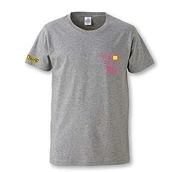 スペースインベーダー 40周年 デザインTシャツ SPACE INVADERS DESIGN T-Shirts (S, グレー)