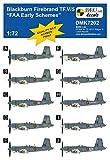マーク1 1/72 ブラックバーン・ファイアブランド TF.V/5 艦隊航空隊初期デカール (バロム 72139用) プラモデル用デカール MKMDMK7202