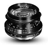 7artisans 35mm F1.2 Large Aperture Prime APS-C Aluminum Lens for Sony E Mount Mirrorless Cameras A6500 A6300 A6100 A6000 A5100 A5000 A9 NEX 3 NEX 3N NEX 5 NEX 5T NEX 5R NEX 6 7