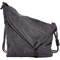 Coofit Adult Crossbody Bag, Messenger Bag Casual Canvas Hobo Bag Shouder Bag