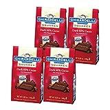 ギラデリ 60%カカオチョコレート 4個セット [並行輸入品]