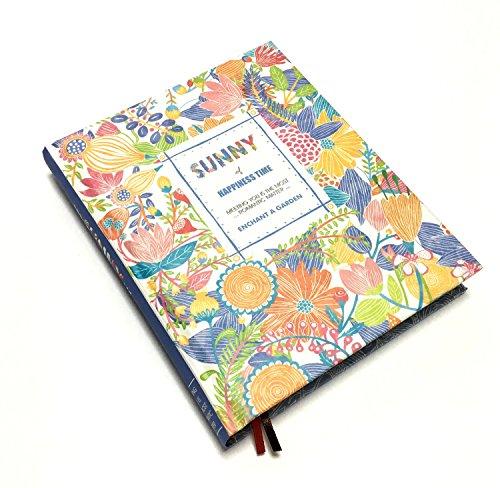 最安値毎日が楽しくなる イラスト付き 日記帳 フラワー モチーフ A5