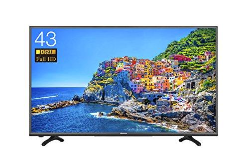 ハイセンス 43V型フルハイビジョン液晶テレビ 外付けHDD録画・・・