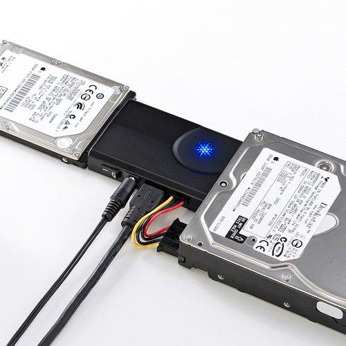 サンワサプライ アウトレット IDE/SATA - USB3.0 変換ケーブルUSB-CVIDE6 箱にキズ、汚れのあるアウトレット 品です。