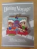 東京ディズニーホテル ダイニングヴォヤッジ (Dining Voyage)15-630,2009 オリジナルピンバッジ チップ&デール