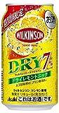 【季節限定】ウィルキンソン・ドライセブンドライレモントニック [ チューハイ 350ml×24本 ]