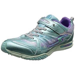 [スーパースター] 運動靴 通学履き バネ バネのチカラ パワーバネ 軽量 マジック ゆったり SS J801
