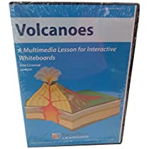 Site License CD-ROM: Multimedia Lesson for Interactive Whiteboards, Volcanoes, (78681) [並行輸入品]