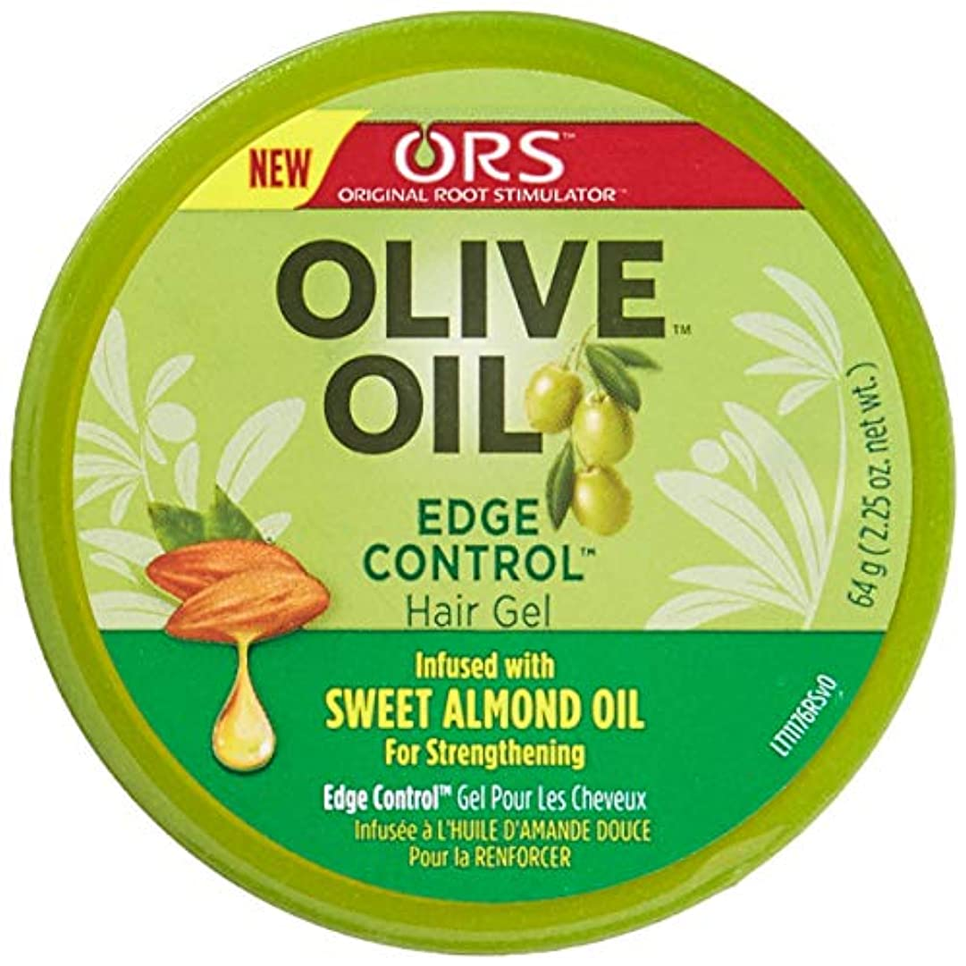 きつくジョグ義務Organic Root Olive Oil Edge Control 65 ml (並行輸入品)