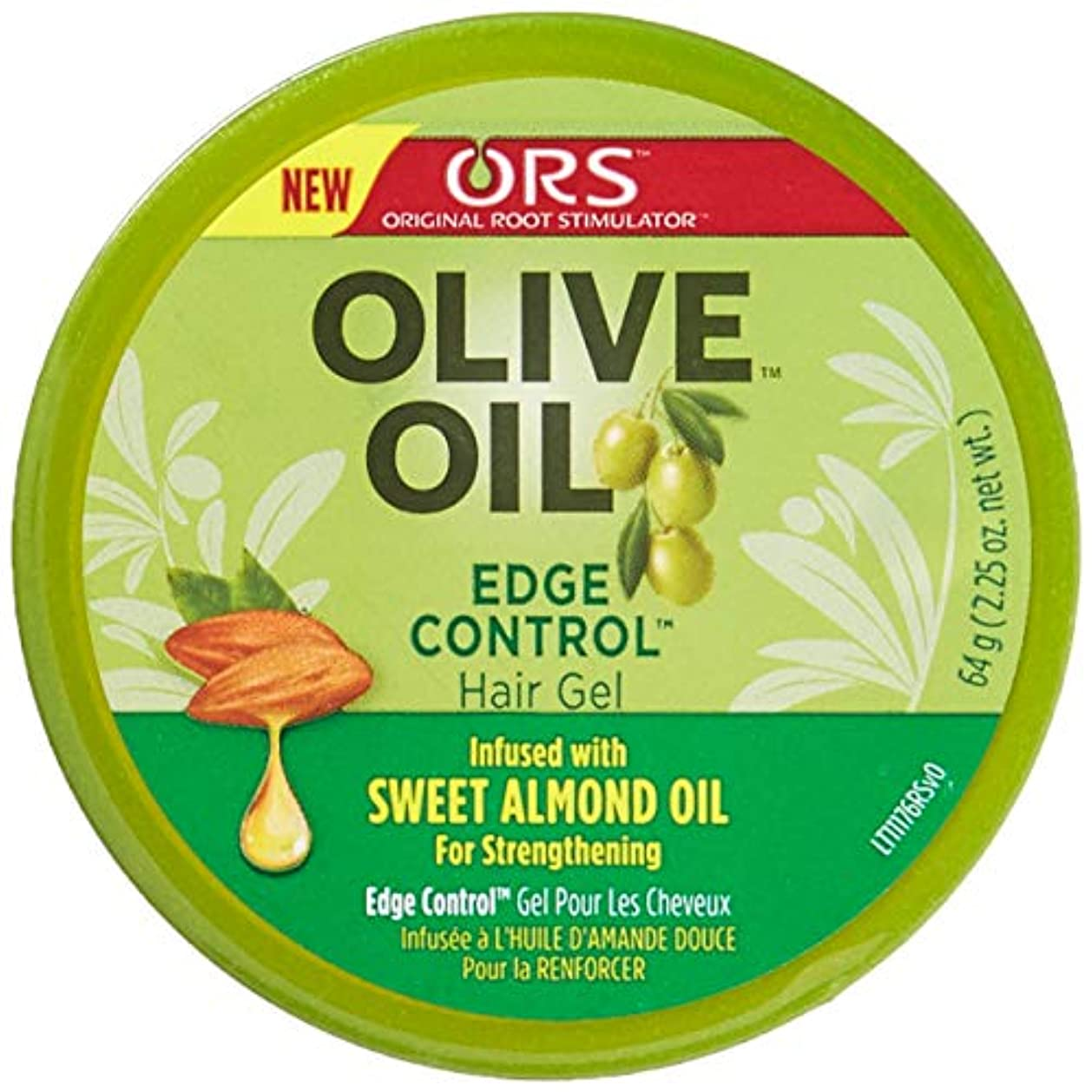彫る通貨落花生Organic Root Olive Oil Edge Control 65 ml (並行輸入品)