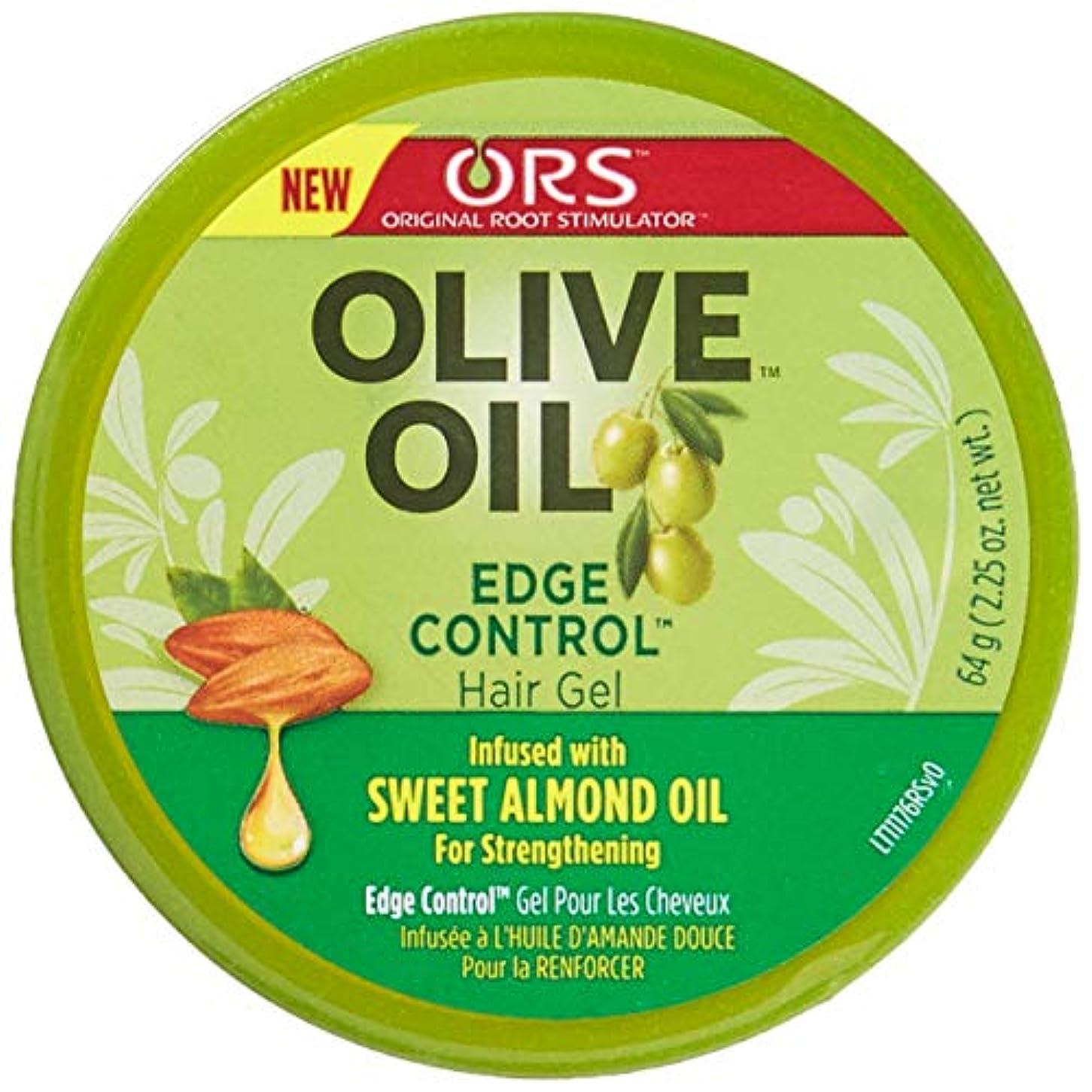 傾向船乗りシフトOrganic Root Olive Oil Edge Control 65 ml (並行輸入品)