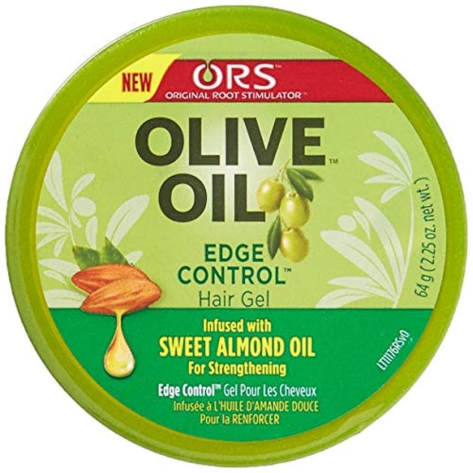 ヒープ無限大気怠いOrganic Root Olive Oil Edge Control 65 ml (並行輸入品)