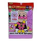 アンパンマン 長袖 お食事エプロン ピンク 26.5×35.5×28
