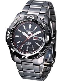 SEIKO5 セイコー5 腕時計 オートマチック メンズウォッチ SNZJ11J1 ブラック [時計] [逆輸入品]