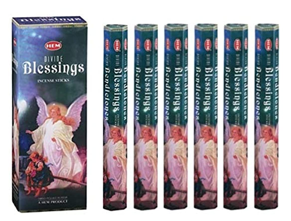 引き算誤解するラッカスHEM(ヘム)社 ブレッシング香 スティック BLESSINGS 6箱セット