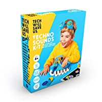 Tech Will Save Us, Techno Sounds Kit Educational STEM Toy, Ages 4 and Up
