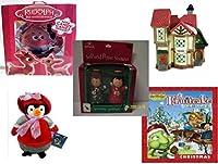 クリスマスFun for Everyoneギフトバンドル[ 5Piece ]–Holiday Decor–アクセサリー–ギフトアイテム–Item No dbund-xmas-18428