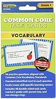 [Edupress]Edupress Common Core Task Cards Vocabulary Grade 1 EP-3340 [並行輸入品]