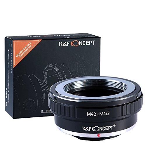 KF Concept マウントアダプター M42-m4/3 M42マウントレンズ-マイクロフォーサーズマウントボディ用 M42レンズ- Micro4/3カメラ装着用レンズアダプターリング Olympus PEN E-P1 P2 P3 P5 E-PL1など専用