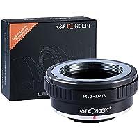 K&F Concept® マウントアダプター M42-m4/3 M42マウントレンズ-マイクロフォーサーズマウントボディ用 M42レンズ- Micro4/3カメラ装着用レンズアダプターリング Olympus PEN E-P1 P2 P3 P5 E-PL1など専用