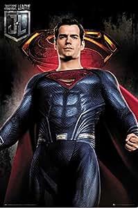 映画ポスター ジャスティスリーグ スーパーマン Justice League UK版 uk15 [並行輸入品]