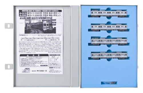 Nゲージ 東京メトロ5000系冷改車増結4両セット