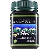 アクティブマヌカハニー UMF20+ 500g ハニーバレー(100% Pure New Zealand Honey)マヌカ蜂蜜 MGO829以上