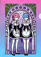 映画 Re:ゼロから始める異世界生活 アールヌーボーシリーズ A4クリアファイル ラム&レム anime
