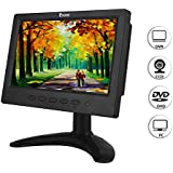 7 Inch HDMI Monitor LCD HD 1024x600 Resolution Aspect Ratio 16:9 BNC VGA Video Audio Screen Display Response Time 12ms for FPV Aerial Cam CCTV Raspberry Pi Built in Speakers (7'' 1024x600)