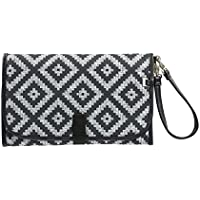 OiOi Peat Aztec Chevron Change Mat Clutch