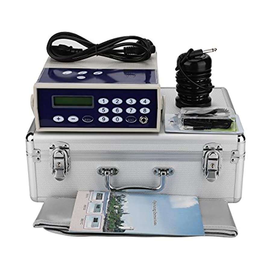 見つける角度解放するイオンフットバスデトックスマシン、プロフェッショナルイオンイオンアレイボディデトックスマシンスパ赤外線腰ベルトで浄化(110-220V)