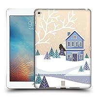 Head Case Designs ブルー ウィンター・コテージ iPad Pro 9.7 (2016) 専用ハードバックケース