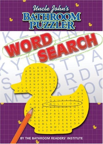 Download Uncle John's Bathroom Puzzler: Word Search 1592238831