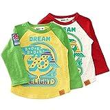 【アウトレット】 Bobson 長袖Tシャツ(80〜130cm) キムラタンの子供服 ( 77203x77703-151a )
