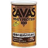 ザバス(SAVAS) ホエイプロテイン100+ビタミン リッチショコラ味 【18食分】 378g