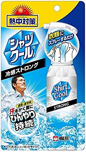 熱中対策シャツクール 冷感ストロング 100ml