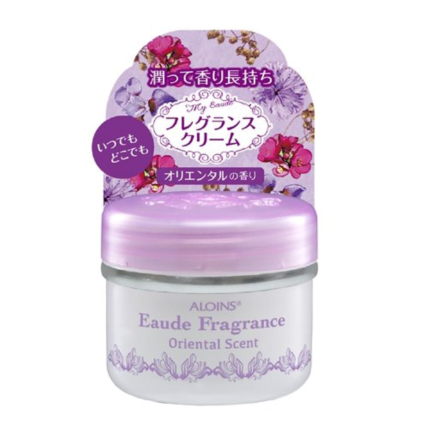 唯一眠る考えるアロインス オーデフレグランス オリエンタルの香り 35g