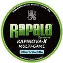 ラパラ(Rapala) PEライン ラピノヴァX マルチゲーム 200m 0.8号 17.8lb ライムグリーン RLX200M08LG