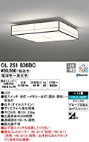 ODELIC(オーデリック) LED和風シーリングライト 調光・調色タイプ LC-FREE Bluetooth対応 【適用畳数:~12畳】 OL251836BC