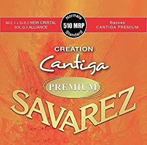 SAVAREZ 510 MRP Normal tension CREATION Cantiga PREMIUM クラシックギター弦
