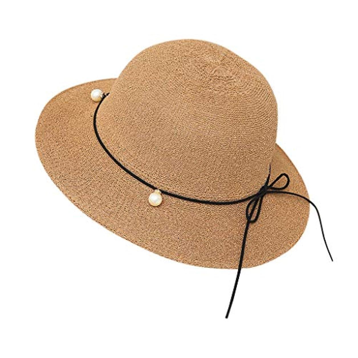 なめらかな団結ページェント帽子 レディース 夏 女性 UVカット 帽子 ハット 漁師帽 つば広 吸汗通気 紫外線対策 大きいサイズ 日焼け防止 サイズ調節 ベレー帽 帽子 レディース ビーチ 海辺 森ガール 女優帽 日よけ ROSE ROMAN