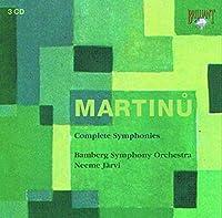 マルティヌー:交響曲全集(3枚組)