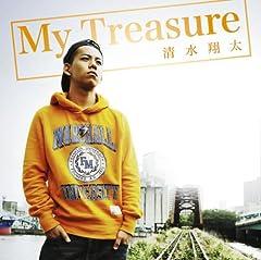 清水翔太「My Treasure」の歌詞を収録したCDジャケット画像