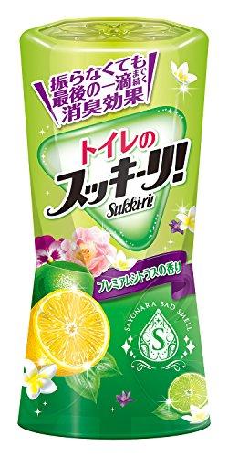 アース製薬 トイレのスッキーリ!Sukki-ri! プレミアムシトラスの香り 400mL