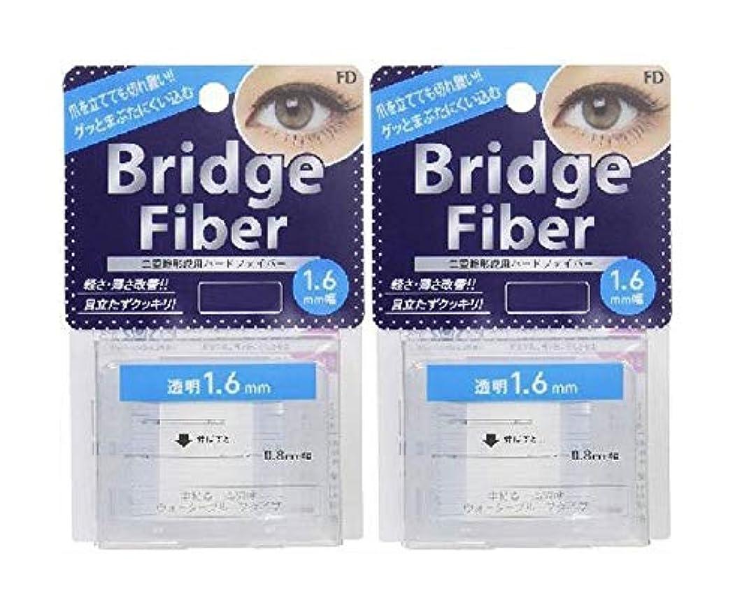 天井領域課税FD ブリッジファイバーII (眼瞼下垂防止テープ) 透明 1.6mm×2個セット